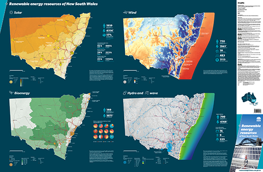Nsw Renewable Energy Resources Map Nsw Resources And