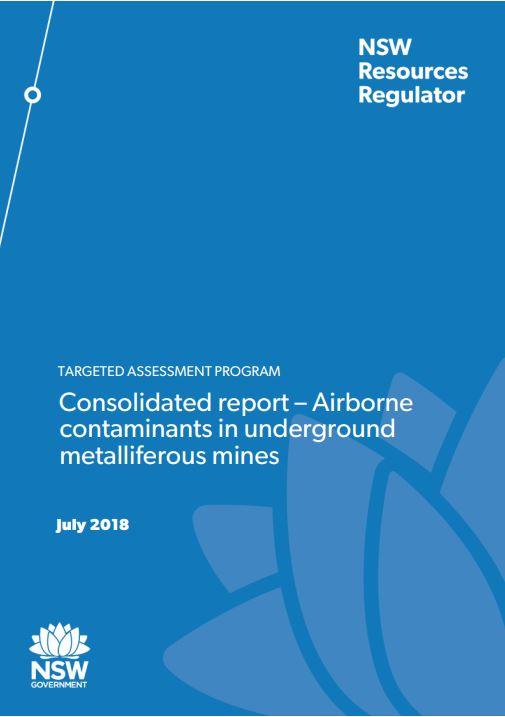 TAP Report - airborne contaminants METEX
