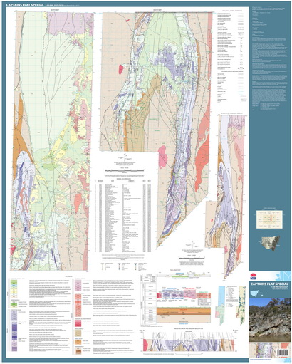 Captains Flat Special 1:50 000 Geological Map