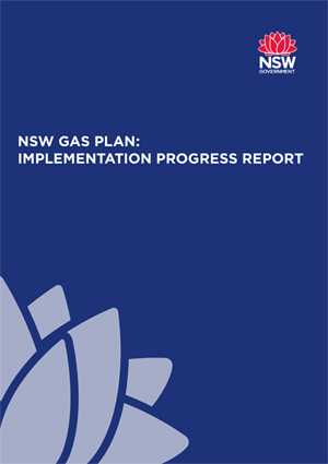 NSW Gas Plan: Implementation progress plan