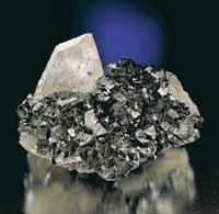 Cassiterite and quartz